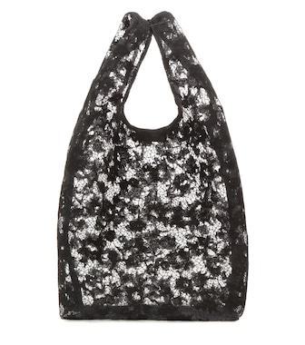 Balenciaga - Lace shopper - mytheresa.com
