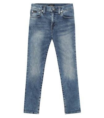 Polo Ralph Lauren Kids - Stretch cotton jeans - mytheresa.com