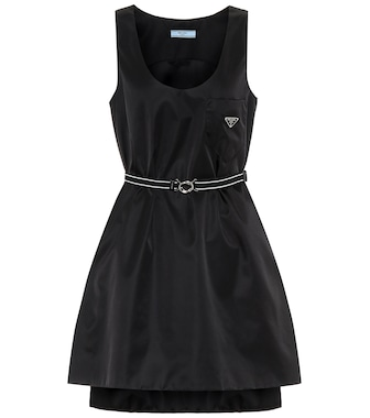 Prada - Nylon minidress - mytheresa.com
