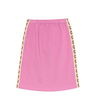 Gucci Kids - Cotton-jersey skirt - mytheresa.com