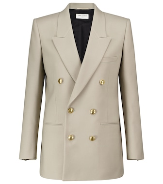 Saint Laurent - Virgin wool blazer - mytheresa.com