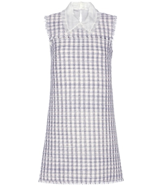 Miu Miu - Wool-blend tweed dress - mytheresa.com