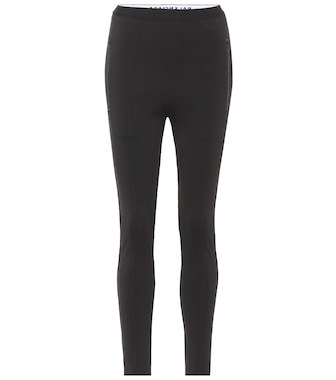 Balenciaga - Stretch leggings - mytheresa.com