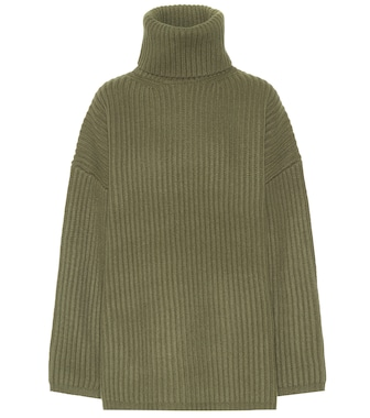 Acne Studios - Wool turtleneck sweater - mytheresa.com