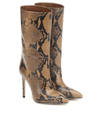 Paris Texas - Exclusive to Mytheresa – Snake-effect leather boots - mytheresa.com