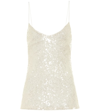 Galvan - Moonlight sequined bridal camisole - mytheresa.com