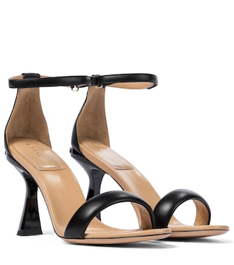 Givenchy - Carène leather sandals - mytheresa.com