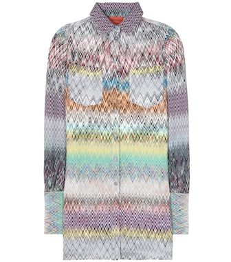 Missoni - Crocheted wool shirt - mytheresa.com