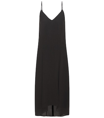 Balenciaga - Crêpe slip dress - mytheresa.com