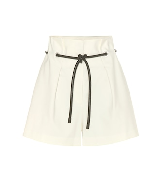 3.1 Phillip Lim - Cotton-blend shorts - mytheresa.com