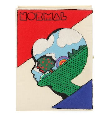 Olympia Le-Tan - NORMAL book clutch - mytheresa.com