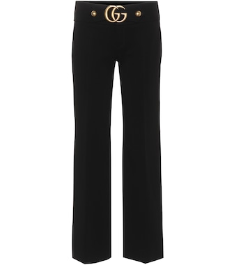 Gucci - Cropped trousers - mytheresa.com