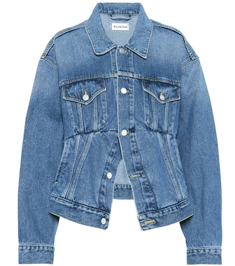 Balenciaga - Swing denim jacket - mytheresa.com