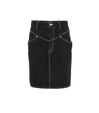 Isabel Marant - Lorine high-rise denim skirt - mytheresa.com
