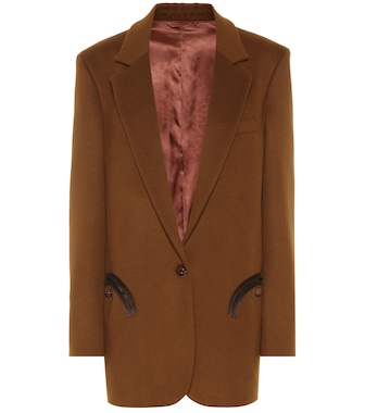 Blazé Milano - Weekend wool and cashmere blazer - mytheresa.com