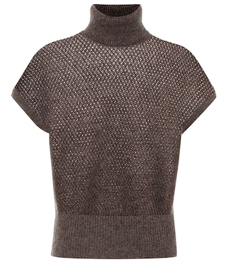 Brunello Cucinelli - Mohair and wool-blend sweater - mytheresa.com