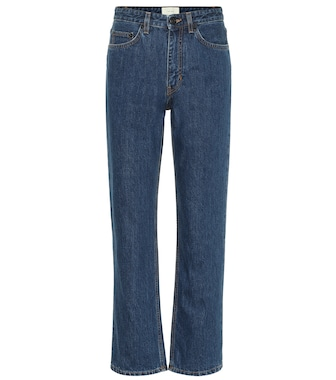 The Row - Christie mid-rise straight jeans - mytheresa.com