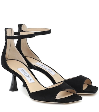 Jimmy Choo - Reon 65 suede sandals - mytheresa.com