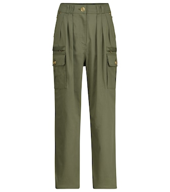 Balmain - High-rise slim pants - mytheresa.com