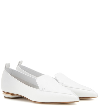 Nicholas Kirkwood - Beya Bottalato leather loafers - mytheresa.com