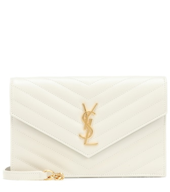 Saint Laurent - Monogram Envelope shoulder bag - mytheresa.com