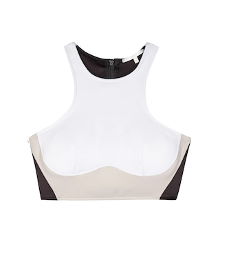 Stella McCartney - Racerback bikini top - mytheresa.com