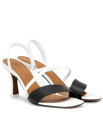 Neous - Ecu leather sandals - mytheresa.com