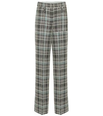 Dorothee Schumacher - Charismatic Check wool-blend pants - mytheresa.com