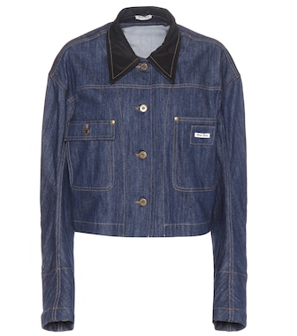 Miu Miu - Mue denim jacket - mytheresa.com