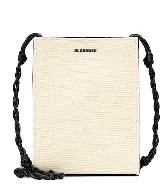 Jil Sander - Tangle Small canvas shoulder bag - mytheresa.com