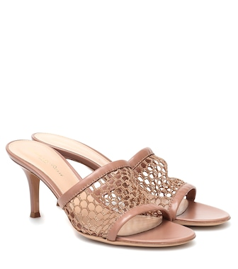 Gianvito Rossi - Jamaica 70 leather sandals - mytheresa.com