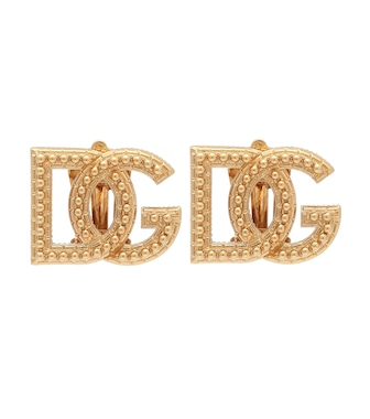 Dolce & Gabbana - Logo clip-on earrings - mytheresa.com