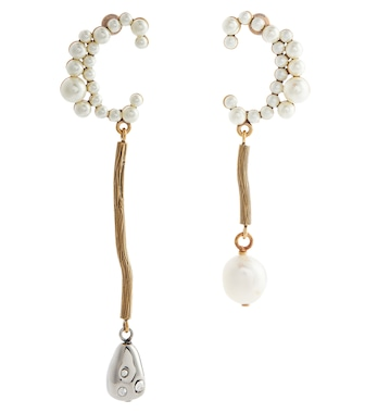 Chloé - Darcey baroque pearl earrings - mytheresa.com