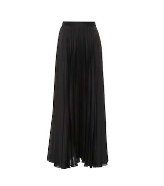 The Row - Nailen pleated satin skirt - mytheresa.com