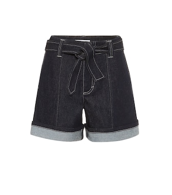 Chloé - High-rise denim shorts - mytheresa.com