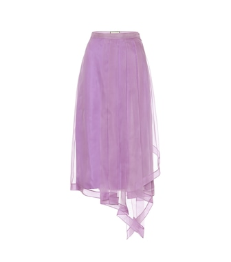 Gucci - Silk midi skirt - mytheresa.com
