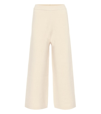 Joseph - Wide-leg wool pants - mytheresa.com
