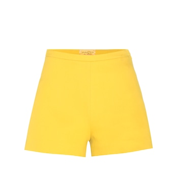 Giambattista Valli - Cotton-blend shorts - mytheresa.com