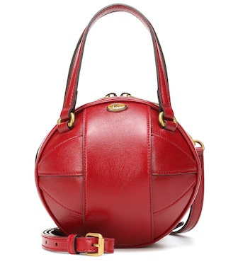 Gucci - Tifosa Mini leather tote - mytheresa.com