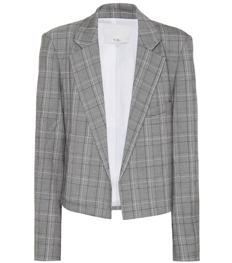 Tibi - Blazer James cropped - mytheresa.com