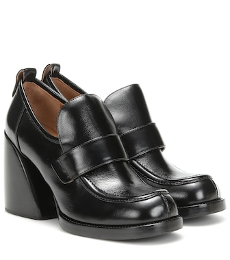 Chloé - Loafer-Pumps Wave aus Leder - mytheresa.com