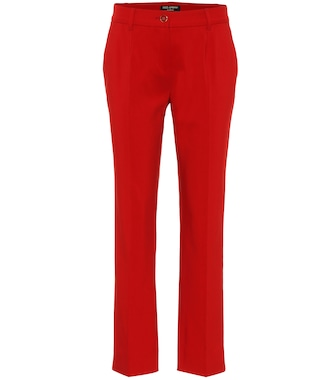 Dolce & Gabbana - Exclusive to Mytheresa – cotton-blend mid-rise pants - mytheresa.com