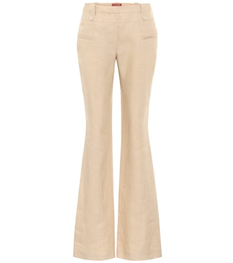 Altuzarra - Exclusive to Mytheresa – Serge linen flared pants - mytheresa.com