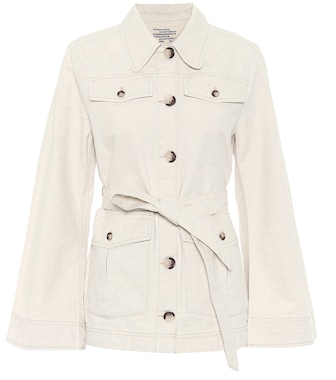 Baum und Pferdgarten - Bianna cotton and linen jacket - mytheresa.com