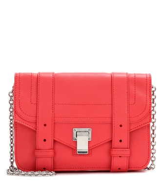 Proenza Schouler - PS1 Chain leather clutch - mytheresa.com
