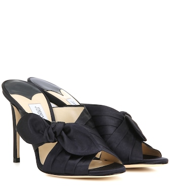 Jimmy Choo - Keely 100 satin sandals - mytheresa.com