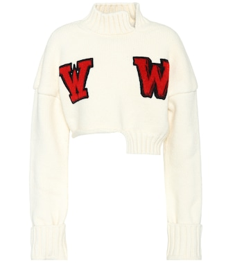 Off-White - Wool-blend sweater - mytheresa.com