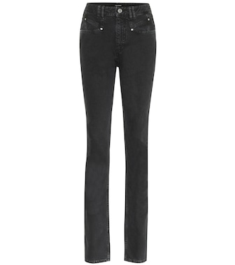 Isabel Marant - High-Rise Slim Jeans Nominic - mytheresa.com