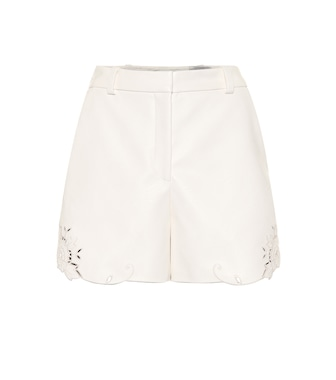 Stella McCartney - Faux leather shorts - mytheresa.com