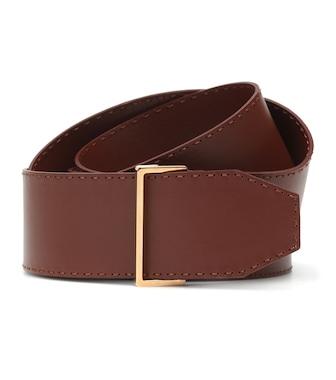 Agnona - Leather belt - mytheresa.com